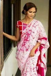 Bagru Hand Batik Cotton Saree