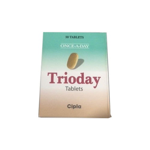 Cipla Trioday Tablet, Packaging Type: Strips