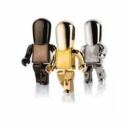 Metal Robot Pendrive