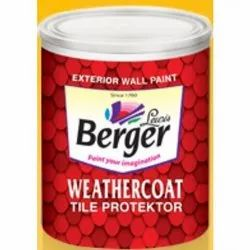 100% Acrylic Latex Paint Weather Coat Tile Protector