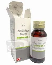 Bromohexine Syrup 4mg / 5ml BP