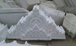 Marble Temple Carving