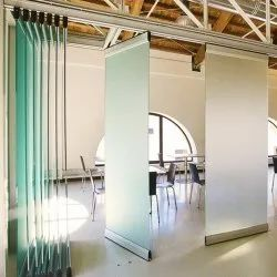 Sliding Office Glass Partition