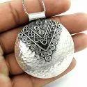 Bajrang Bali 925 Sterling Silver Pendant