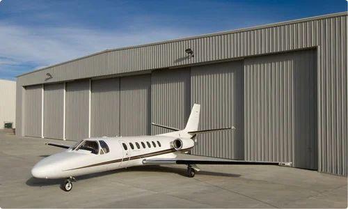 Automatic Aircraft Hangar Door