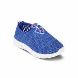 KTB523 Blue Kids Slip On Shoes