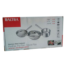 Stainless Steel Baltra SS Cookware, for Home