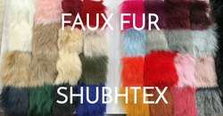 IMPORTED FAUX FUR FABRIC SHADES