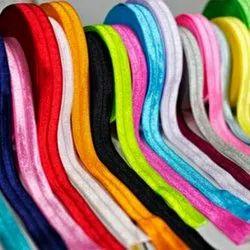 Folding Colored Elastic Tape