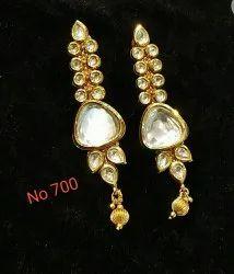 Party Wear Kundan Earring