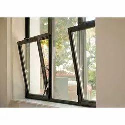 Polished Aluminium Tilt Window, For Residential, Size/Dimension: 5 X 3.5 Feet