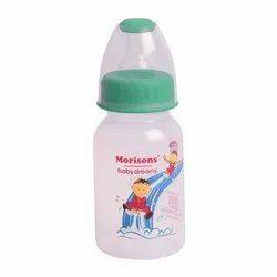 Transparent Baby Plastic Feeding Bottle
