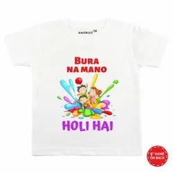 a2 designs Hosiery Holi T-shirt