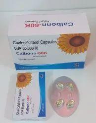 Vitamin D3 60,000 IU Soft Gelatin Capsule