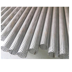 Perforated Stainless Steel Tubes