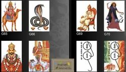 Ceramic 10x15 Digital Wall In God Picture Images Tiles, Thickness: 6 - 8 Mm, Size: Medium