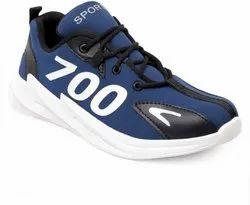 R International Black And Blue Sport Shoes For Men, Size: 6 - 10