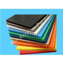 Polypropylene Hollow Corrugated Sheet