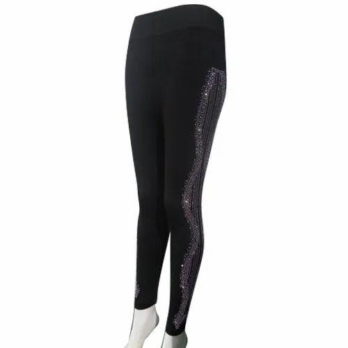 7ce6891b314a8 Casual Wear Ladies Black Fancy Legging, Size: XL, Rs 199 /piece | ID ...