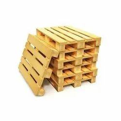 Rectangular Soft Wood Fumigated Wooden Pallet, For Packaging