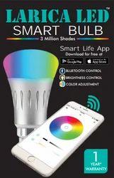 Larica 7W Smart LED Bulb, for Decoration, Lighting, Base Type: B22