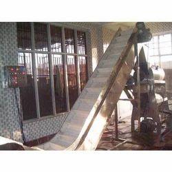 20 feet Industrial Bucket Elevator System