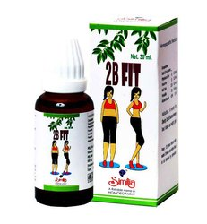 Homeopathic liquid Weight Loss Medicine 2B FIT, Packaging Size: 30ml, Pack Size: 30 Ml