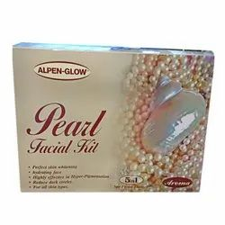 Alpen Glow Pearl Facial Kit - 500gm, Packaging Size: 500 Gram, For Beauty Parlor