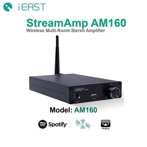 iEAST W Airplay Multi-Room Digital Amplifier - Recont