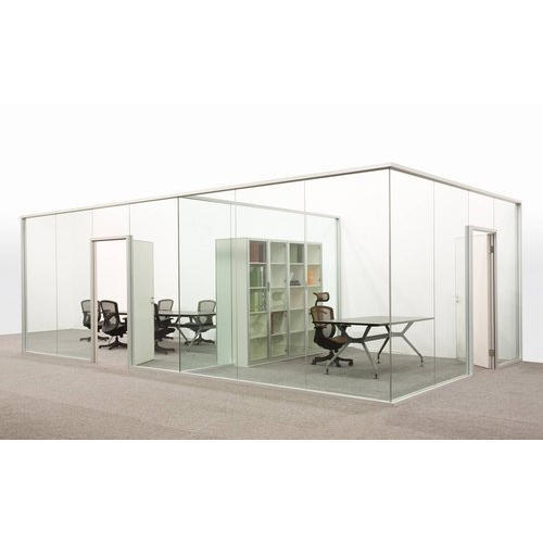 Office Frameless Glass Partitions
