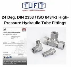 Tufit Adjustable Locknut Tee Coupling