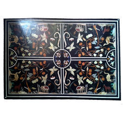 Handmade Work Marble Top Inlay For Home