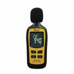 Mini Sound Level Meter With Temperature Rtek - RT 911 A
