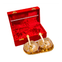 Silver and Gold Plated Gift Set