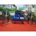 Two Bucket Milking Machine