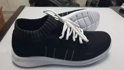 Colour Full And Normal Knitted Fabrics Shoes, Size: 5-10