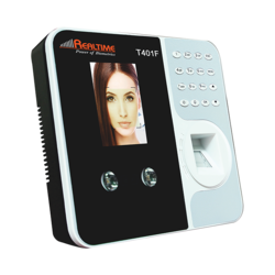 Realtime T401F Face Recognition Finger Attendance Recorder