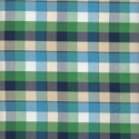Cotton Green Blue Checks Yarn Dyed Fabrics