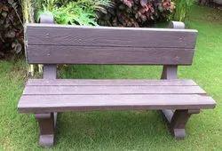 Modern Without Arm Rest Precast Concrete Bench