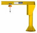 Free Standing Paint Coated Jib Crane