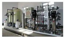 Semi-Automatic Big Industrial RO Plant, Capacity: 2000-3000 L/hour