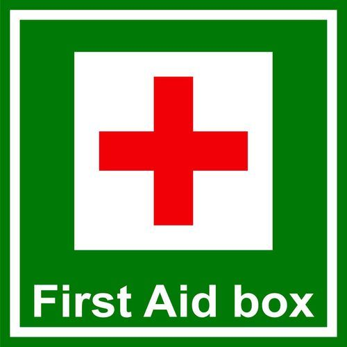 First Aid Box Sign Board