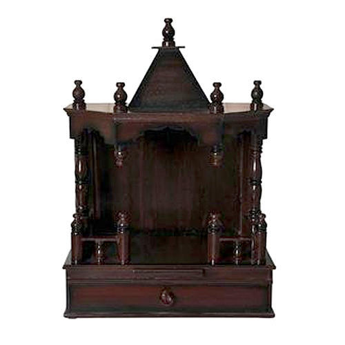 Wall Mounted Wooden Temple At Rs 1700 Piece Wooden Temples Id