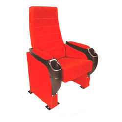 Red Tip Up Theater Chair