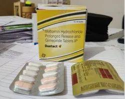 Glimepiride 4mg Metformin 500 mg Tablet
