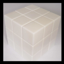 White Plain Magic Cube