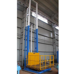 Electro-Hydraulic Goods Lift with Cage