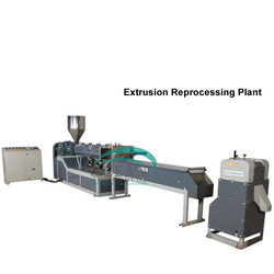 Waste Plastic Recycling Granulating Production Line Machine