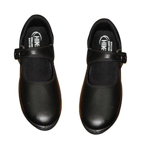 e0d7dea4cf42 Hike Girls School Black PVC Shoes
