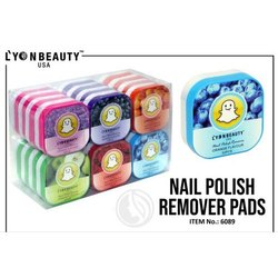 Lyon Beauty Nail Polish Remover Pad for Parlour